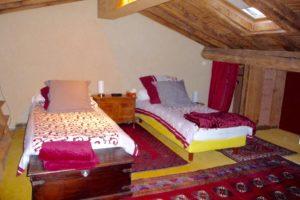 Chambre 3 étage possibilité de séparer les lits