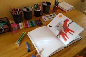 exercice de journal créatif