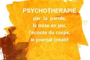 praticienne en thérapie psycho-corporelle, mise en jeu, journal créatif