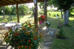 Jardin et préau