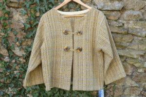 Veste pure laine mérinos