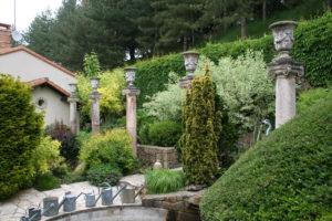 Les colonnes du jardin florentin