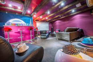 La salle de projection cinéma