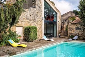 La piscine et l'éspace spa