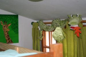 La deuxième chambre, avec des lits superposés