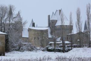 Vue Ouest du Château