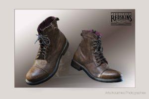 Photographie pour un catalogue de chaussures