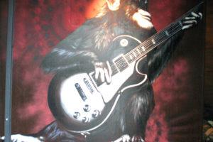 Décor peint - Bar musical - Alès