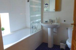 Salle de bain chambre scandinave