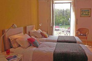 Chélidoine: En rez-de-chaussée avec sa terrasse et lits doubles
